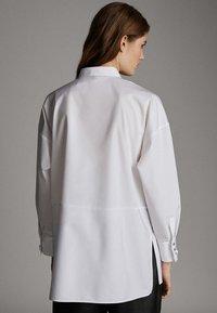Massimo Dutti - POPELINHEMD 05110790 - Camicia - white - 2