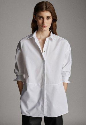 POPELINHEMD 05110790 - Koszula - white