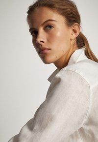 Massimo Dutti - Button-down blouse - white - 5