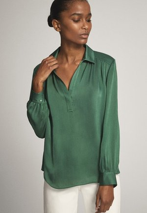 Blouse - evergreen