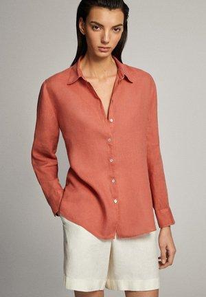 Overhemdblouse - light pink
