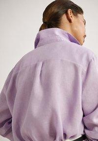 Massimo Dutti - Overhemdblouse - mauve - 4