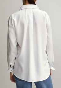 Massimo Dutti - Overhemdblouse - white - 1