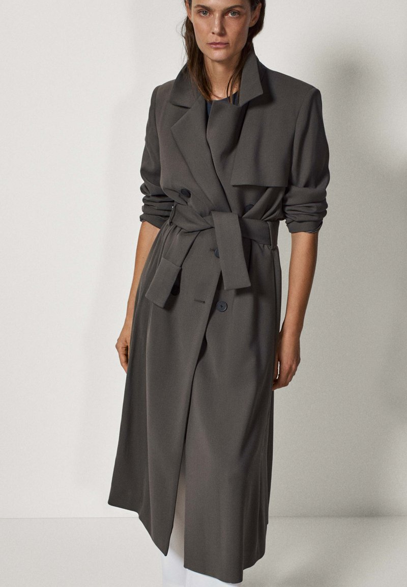 Massimo Dutti - LIMITED EDITION - Classic coat - grey