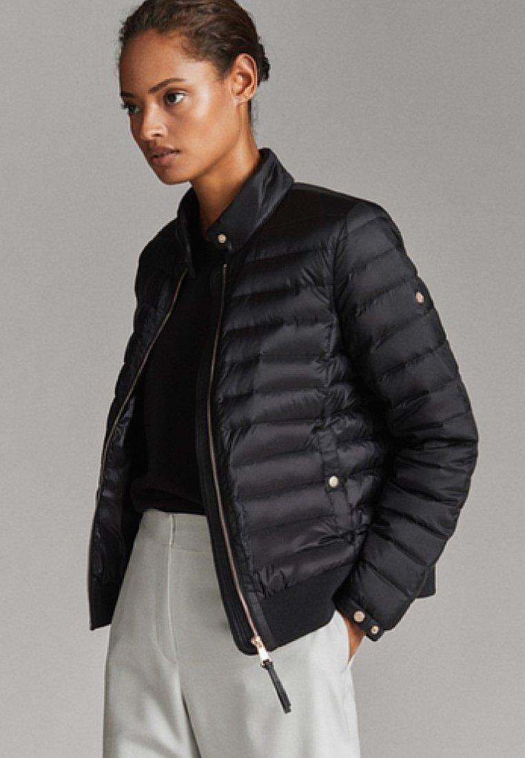 Massimo Dutti - Down jacket - black