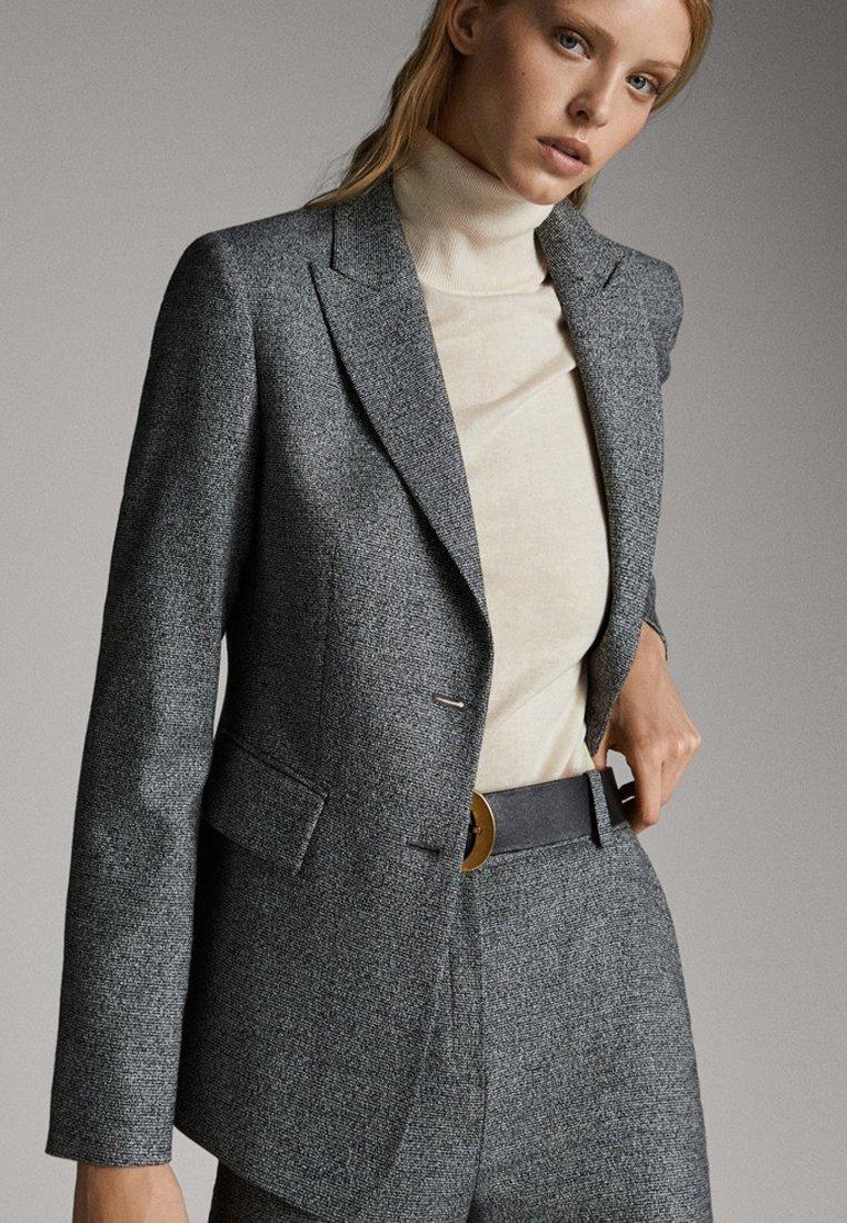 Massimo Dutti - Blazer - gray