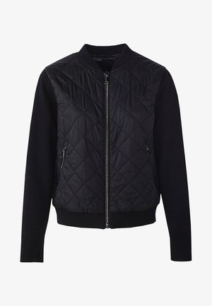 MIT STRICKDETAILS - Bomber Jacket - black