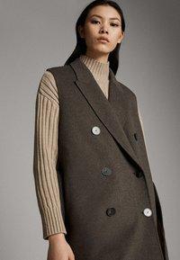 Massimo Dutti - Waistcoat - brown - 3