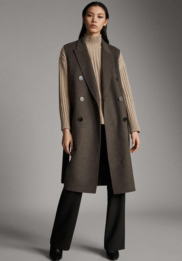 Massimo Dutti - Waistcoat - brown