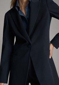 Massimo Dutti - 06007607 - Blazer - blue - 6