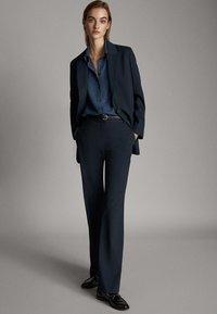 Massimo Dutti - 06007607 - Blazer - blue - 1