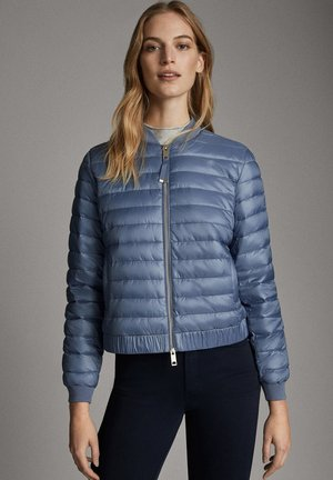 STEPPJACKE MIT METALLICVERZIERUNG 06723601 - Winter jacket - blue
