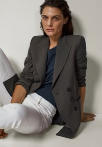 Massimo Dutti - Blazer - dark grey - 4