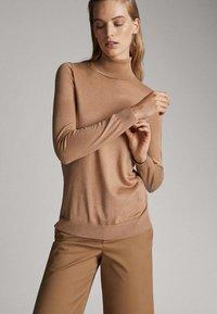 Massimo Dutti - Sweter - brown - 3