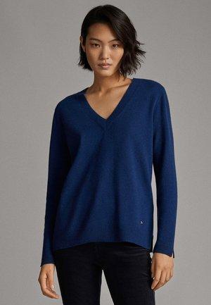 CASHMERE - Sweter - blue
