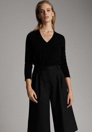 CASHMERE - Sweter - black