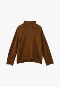 Massimo Dutti - CAMPAIGN COLLECTION - Pullover - brown - 5
