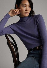 Massimo Dutti - Pullover - dark purple - 5