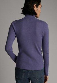 Massimo Dutti - Pullover - dark purple - 1