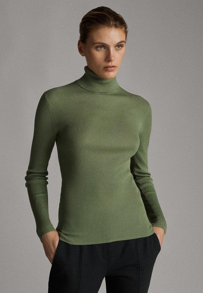Massimo Dutti - Jumper - green