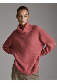 Massimo Dutti - Pullover - neon pink - 0