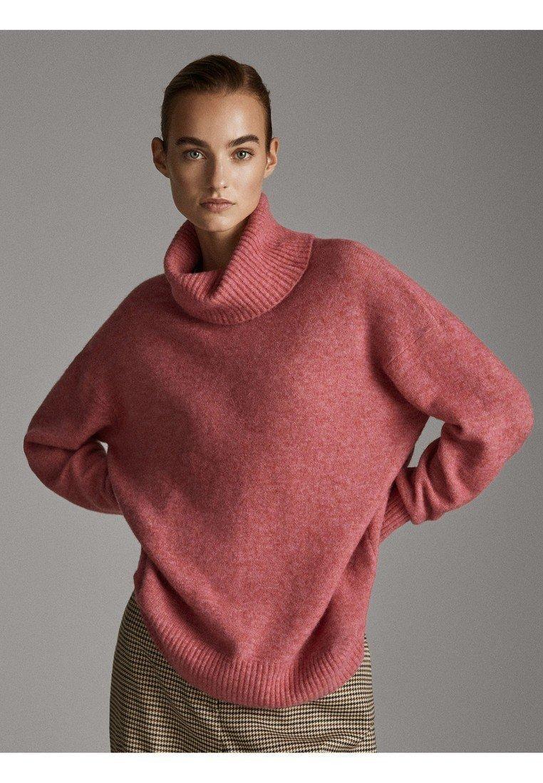 Massimo Dutti - Pullover - neon pink
