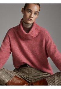 Massimo Dutti - Pullover - neon pink - 4