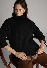 Massimo Dutti - Pullover - black - 5