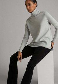 Massimo Dutti - Jumper - light grey - 5