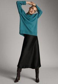 Massimo Dutti - Jumper - blue - 0