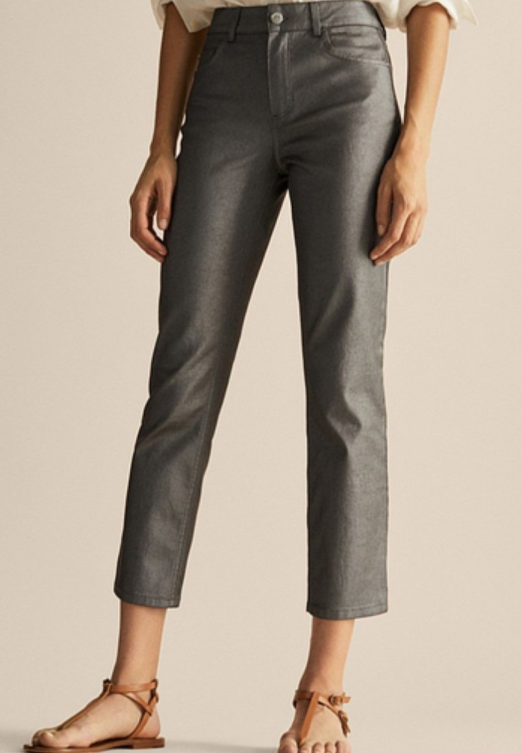 Massimo Dutti - JOIN LIFE - Slim fit jeans - dark grey