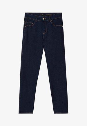 MIT MITTELHOHEM BUND - Jeans slim fit - blue