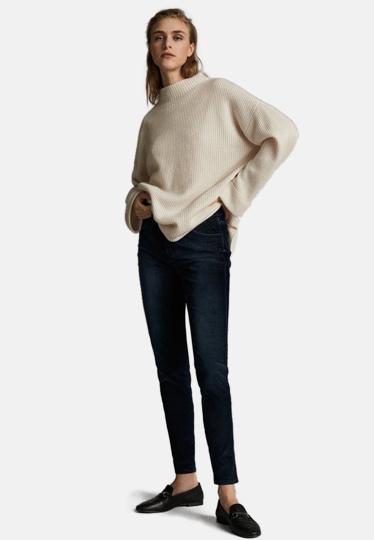Massimo Dutti - Jeans Slim Fit - dark blue