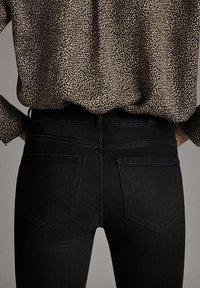 Massimo Dutti - Jeans Skinny Fit - black - 5