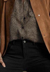Massimo Dutti - Jeans Skinny Fit - black - 3