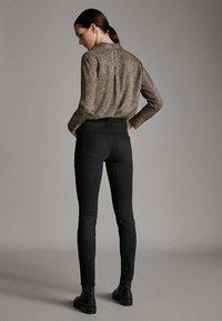 Massimo Dutti - Jeans Skinny Fit - black - 1