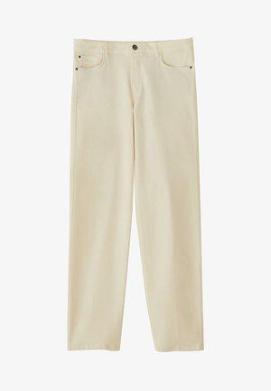 BROKEN-TWILL-ZIGARETTENHOSE 05067707 - Pantalon classique - grey