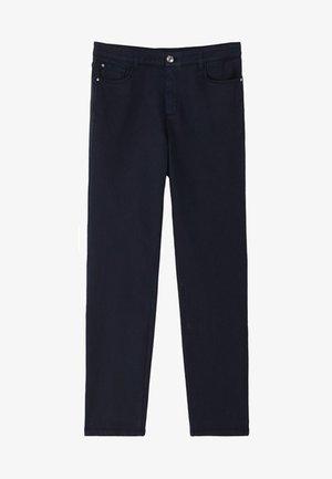 BROKEN-TWILL-ZIGARETTENHOSE 05067707 - Jeans slim fit - blue