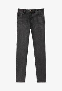 Massimo Dutti - SKINNY-FIT-JEANS MIT MITTELHOHEM BUND 05051703 - Jeans Skinny Fit - grey - 5