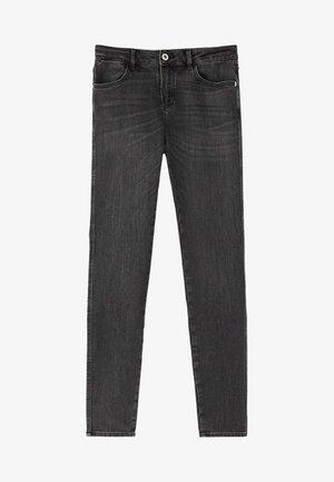 SKINNY-FIT-JEANS MIT MITTELHOHEM BUND 05051703 - Jeans Skinny Fit - grey