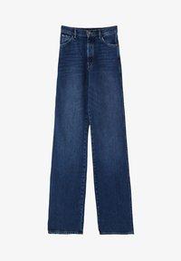 Massimo Dutti - MIT WEITEM BEIN UND HOHEM BUND - Relaxed fit jeans - blue - 15