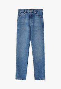Massimo Dutti - MIT HOHEM BUND - Straight leg jeans - blue - 16