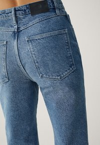 Massimo Dutti - MIT HOHEM BUND - Straight leg jeans - blue - 15