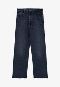 Massimo Dutti - MIT HOHEM BUND UND AUSGEFRANSTEM SAUM  - Flared Jeans - blue - 23