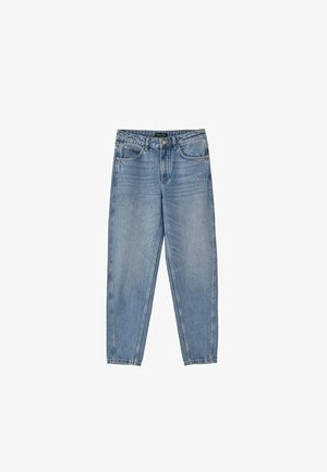 JEANS IM BARREL-FIT MIT HOHEM BUND 05057728 - Jeans a sigaretta - blue