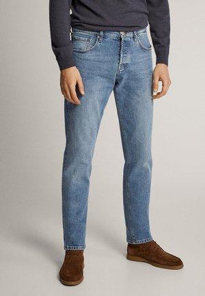 STRAIGHT-FIT-JEANS IM VINTAGE-LOOK 00051161 - Jeans straight leg - blue