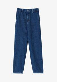 Massimo Dutti - MIT HOHEM BUND 05053724 - Straight leg jeans - blue - 6