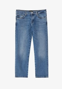 Massimo Dutti - Jeansy Slim Fit - blue - 15