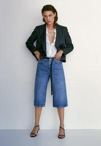Massimo Dutti - Denim shorts - blue - 1