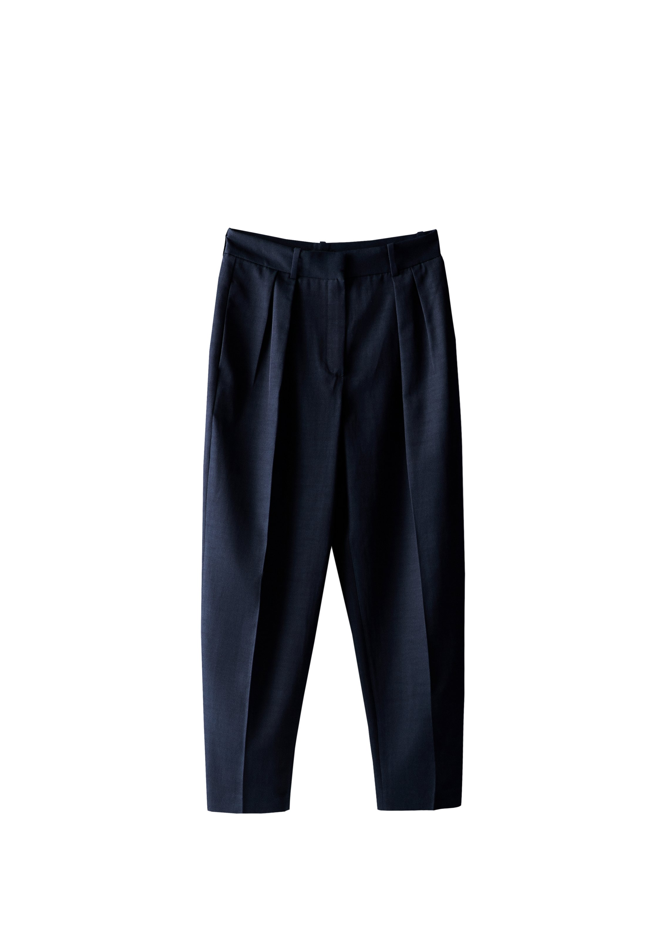 Massimo Dutti Relaxed Fit Jeans - Blue-black Denim